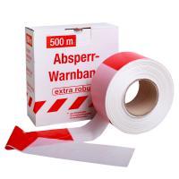 Ohraničovací páska červeno/bílá 500m v krabici