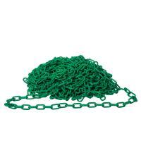 Plastový řetěz ZELENÝ 25m