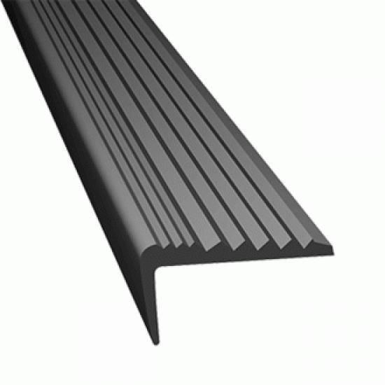 Protiskluzový profil rohový RUBBER STOP - ŠEDÝ - 5 m