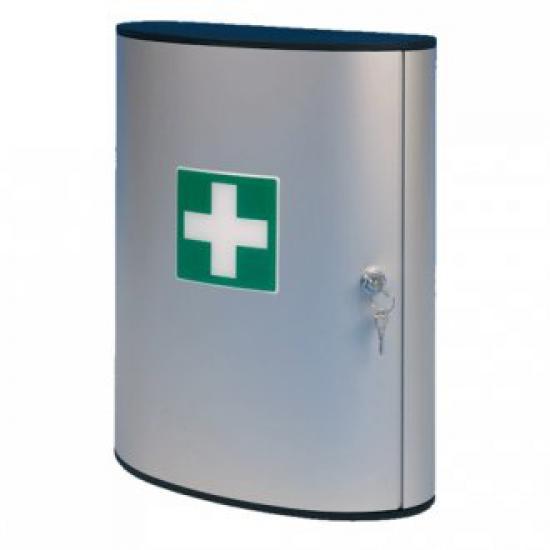 Lékárnička hliníková velká - bez náplně
