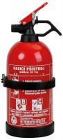 Práškový hasící přístroj do auta bez manometru 1kg - (21B/C)