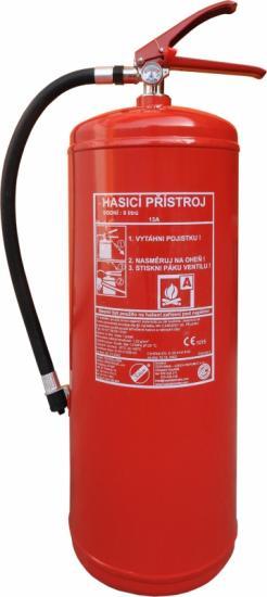 Vodní hasicí přístroj 9l s kontrolou - (13A)