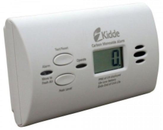 Detektor a hlásič oxidu uhelnatého (CO) KIDDE