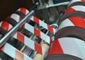 Ohraničovací páska červeno/bílá  250 m
