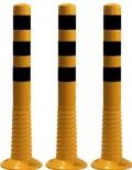 Flexibilní sloupek - žluto-černý (750 mm)