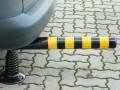 Flexibilní sloupek - černo-žlutý (750 mm)