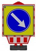 Parkovací stojan sklopný -bez potisku